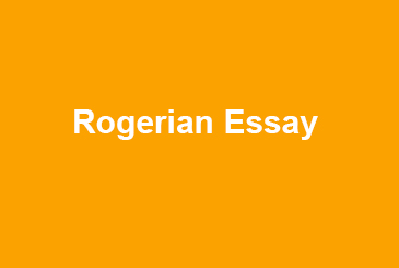 Rogerian Essay Writing